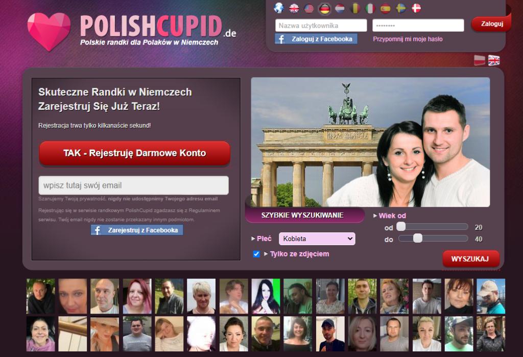 polishcupid.de serwis randkowe w Niemczech