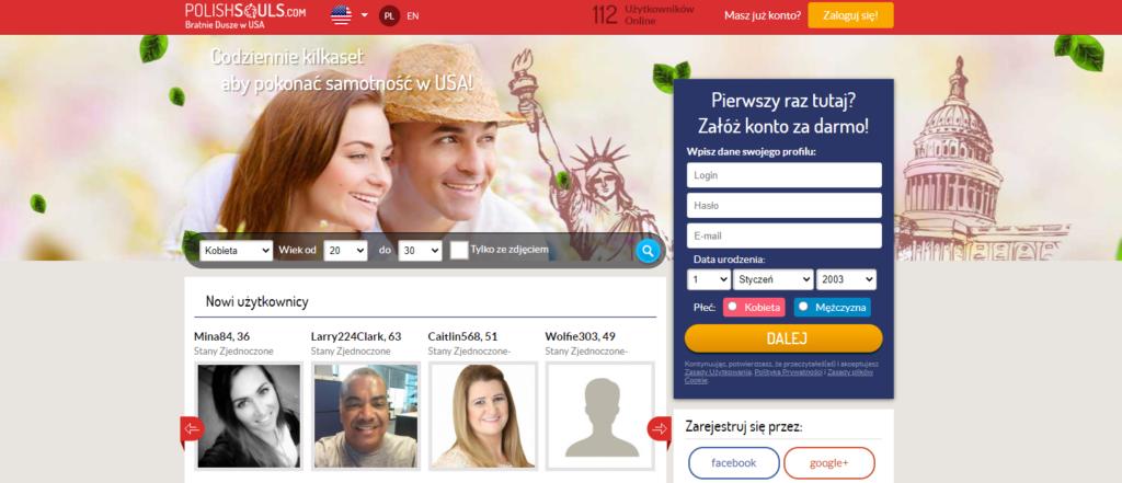 polishsouls.com serwis randkowe w USA