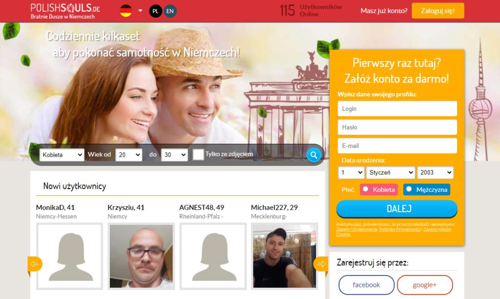polishsouls.de serwis randkowe w Niemczech