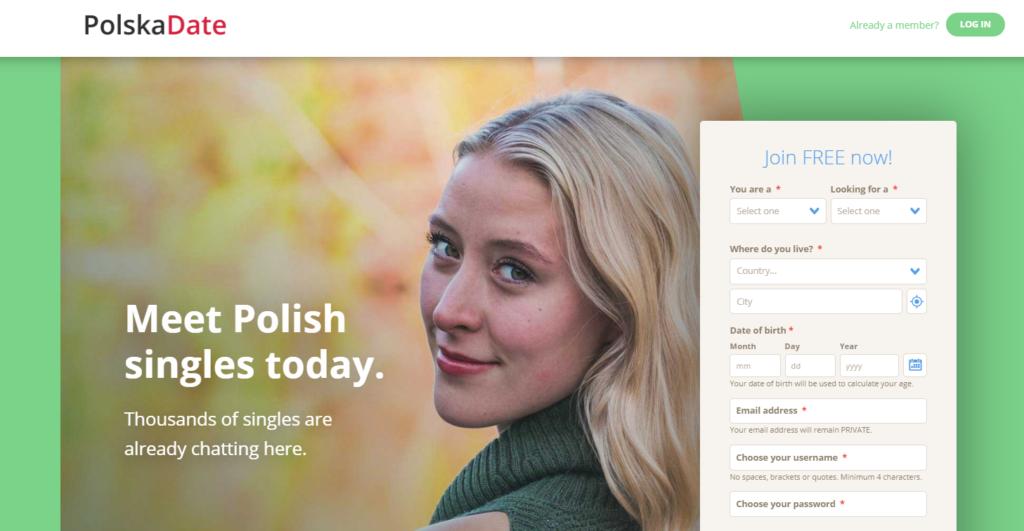 polskadate.com serwis randkowe w USA