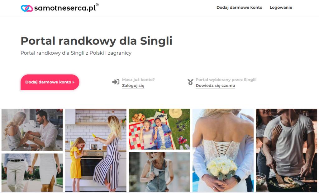 samotneserca.pl serwis randkowe w USA